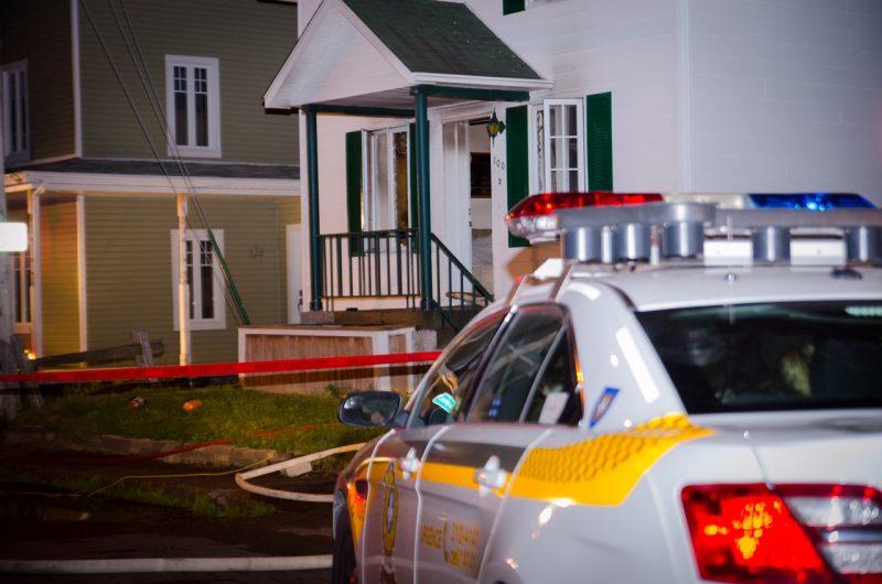 Ronald Fougère fait face à six accusations pour le feu d'une maison de la rue Sainte-Anne à Sainte-Madeleine.