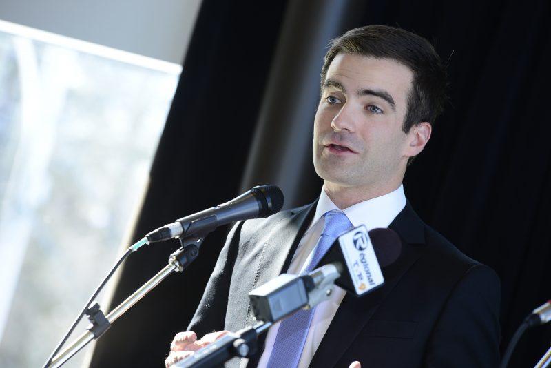 Le député fédéral de Belœil-Chambly, Matthew Dubé