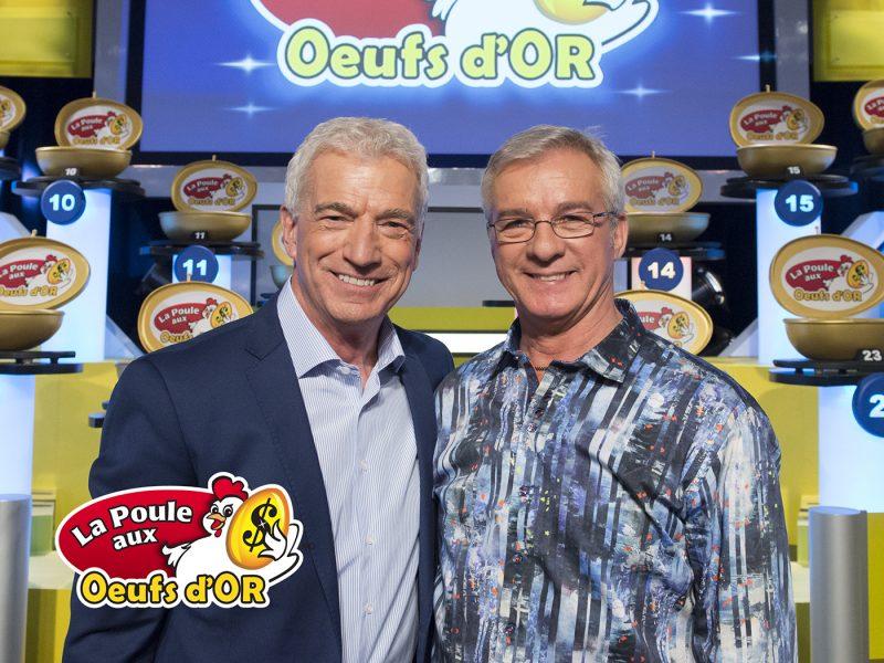 Guy Mongrain et André St-Martin, gagnant de 162 000 $