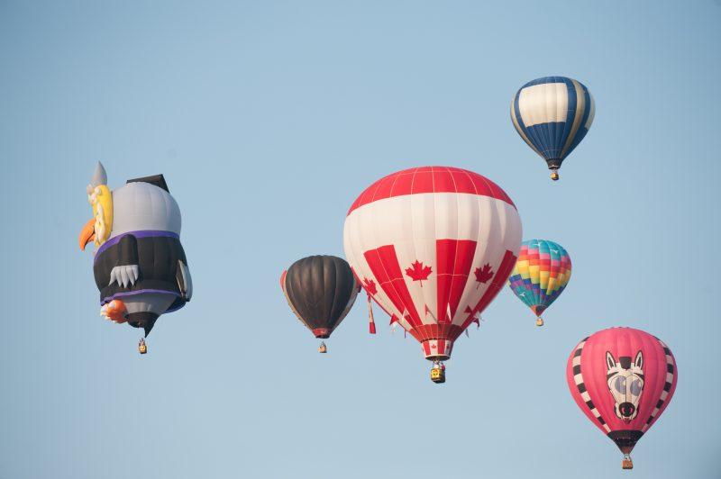Festival des montgolfières de Saint-Jean-sur-Richelieu