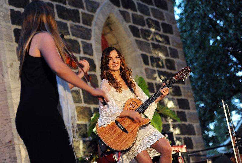 Gabriella en spectacle à Saint-Basile-le-Grand