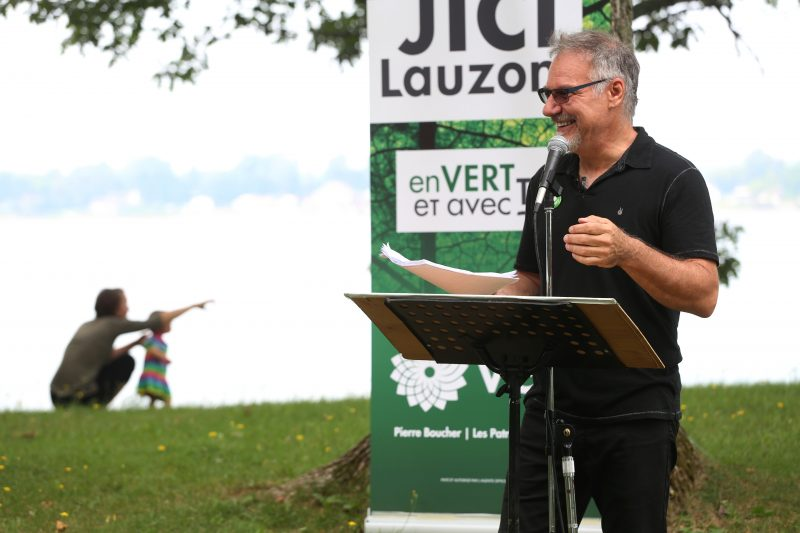JiCi Lauzon surpris de l'impact des chefs