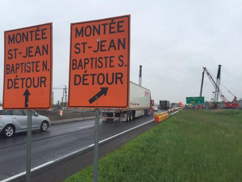 La signalisation «Beloeil/rue Saint-Jean-Baptiste» laissera place à «Beloeil/centre-ville».