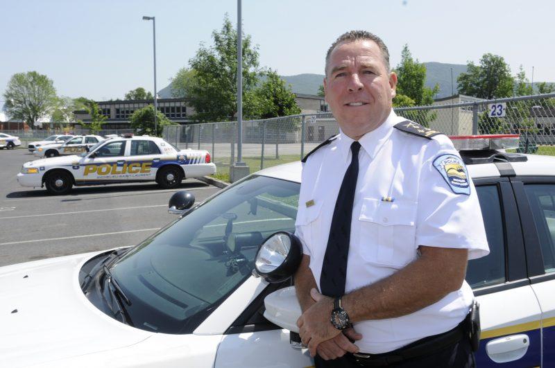 Le nouveau directeur de la Régie intermunicipale de police Richelieu–Saint-Laurent Bruno Pasquini.