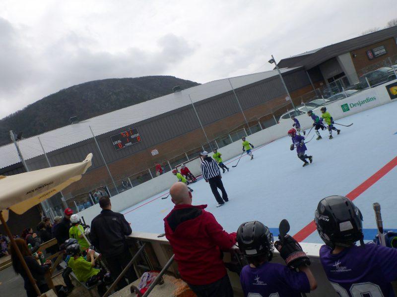Terminé le dek hockey à Mont-Saint-Hilaire