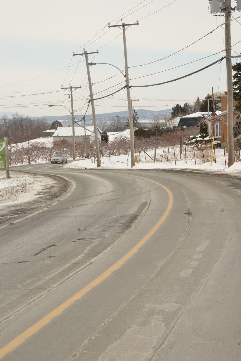 La chaussée du chemin de la Montagne sera refaite.