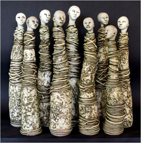 Se tient jusqu' au 25 octobre  à la Maison de la culture Villebon une exposition de Brigitte Dahan.
