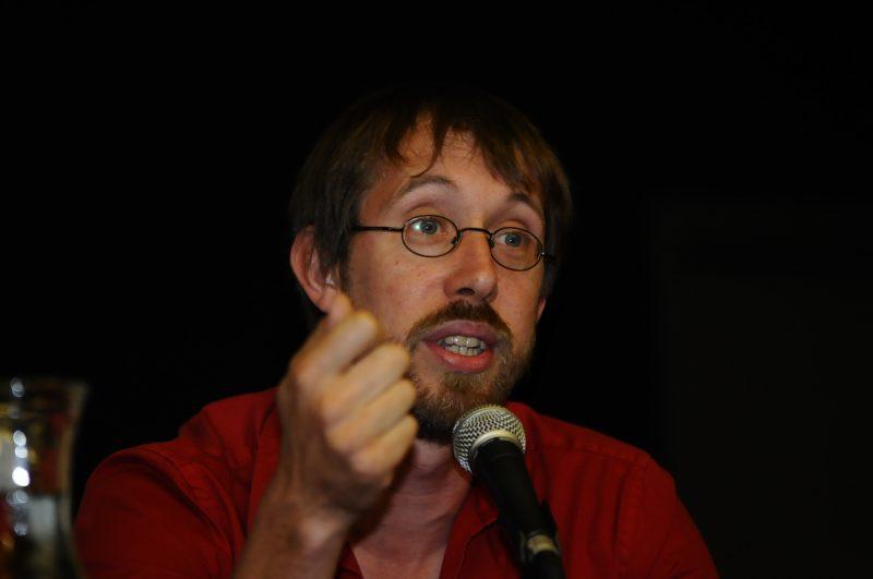 Jean-François Lessard lors des élections provinciales 2012 dans Borduas.