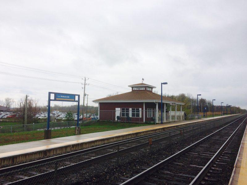La gare de McMasterville serait au cœur du quartier TOD.