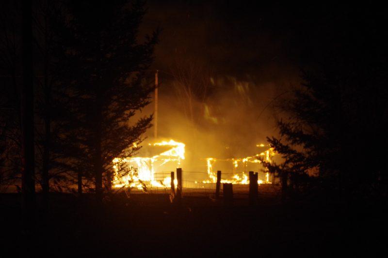 Aucun animal n'a péri dans cet incendie à Mont-Saint-Hilaire.