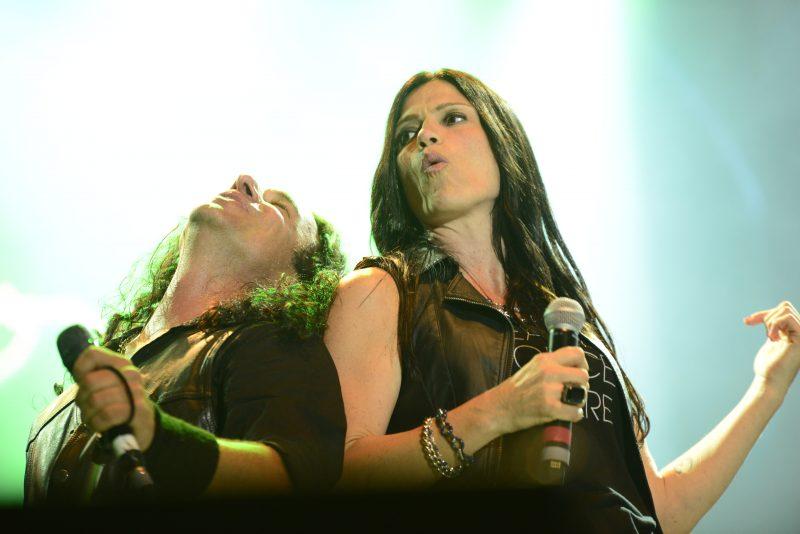 Rosa Laricchuita et le Undecover Live rock Band, à Mont-Saint-Hilaire