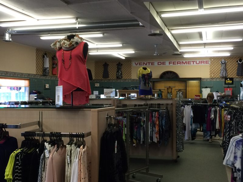 Après 40 ans, le magasin Utilité J. P. Arsenault amorce sa vente de fermeture.