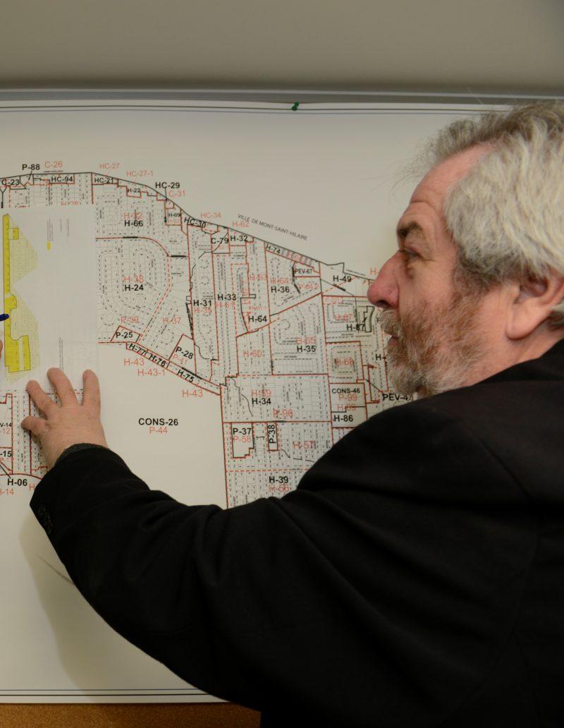 Les directeur général de la Ville d'Otterburn Park, Daniel Desnoyers.