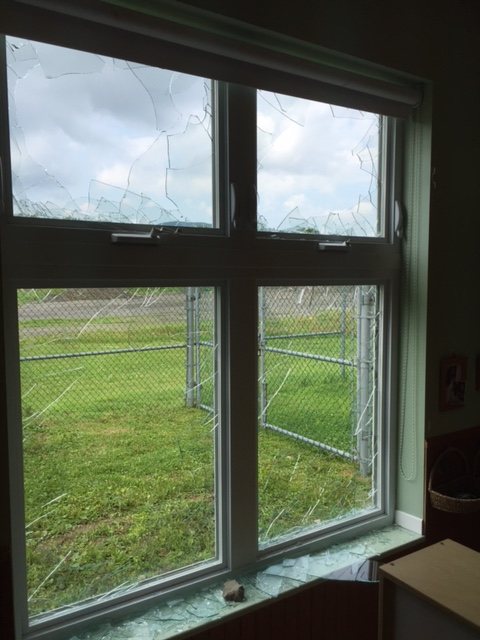 Impossible de réparer les dégâts durant le congé de la construction