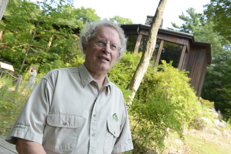 Directeur de Centre de la nature du mont Saint-Hilaire depuis 20 ans, Kees Vanderheyden tourne maintenant le regard vers d'autres projets.