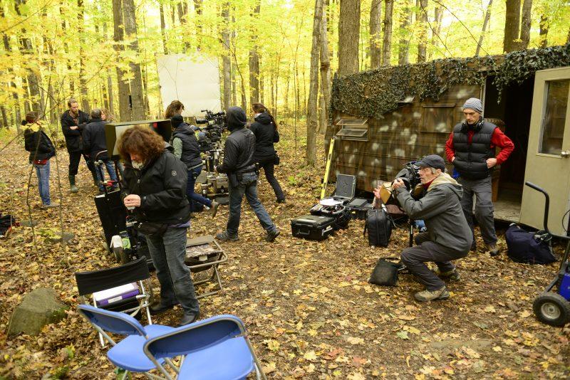 Le tournage de la série Séquelles s'est en partie effectué à Saint-Jean-Baptiste.