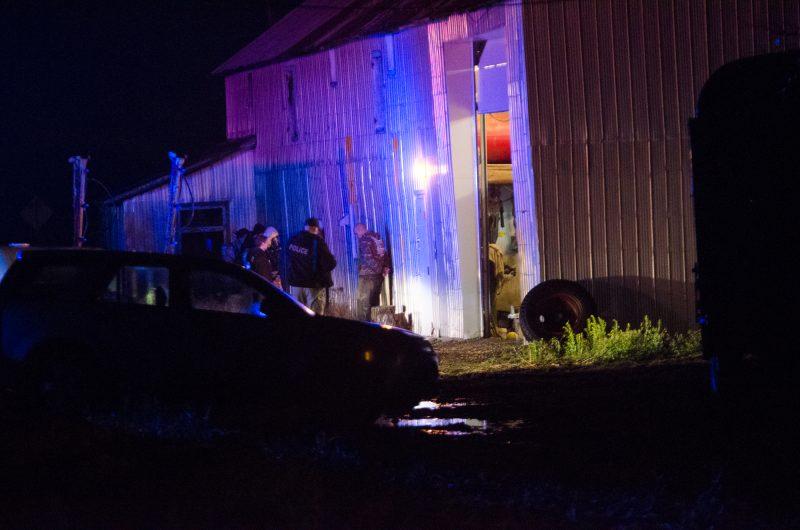 La GRC a procédé au démantèlement d'un laboratoire clandestin de drogue de synthèse, à Sainte-Marie-Madeleine, mercredi le 3 décembre.