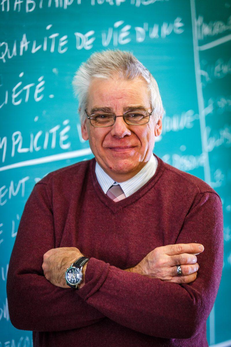 Daniel Bérubé est enseignant à l'école Mgr.-A. Parent.
