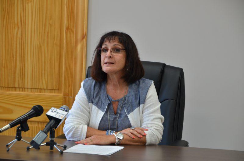La mairesse Diane Lavoie.