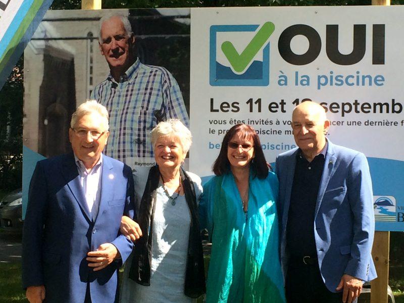 À deux semaines du scrutin référendaires, trois Villes ont démontré publiquement leur appui au projet du Oui.