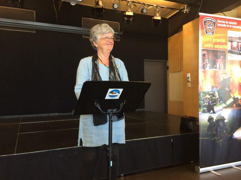 La mairesse d'Otterburn Park, Danielle Lavoie, a mentionné l'importance d'adapter les services municipaux à une population vieillissante.