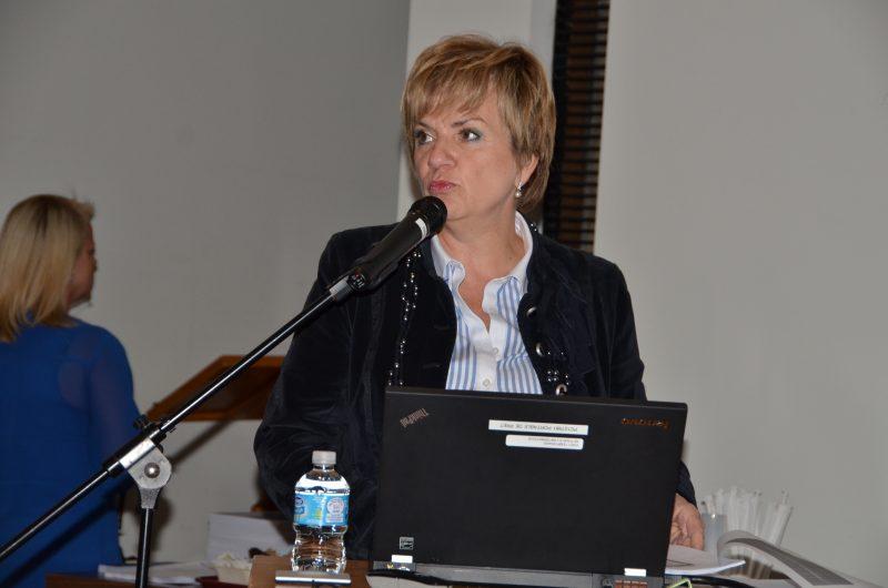 La PDG du CISSS Montérégie-Est,  Louise Potvin.