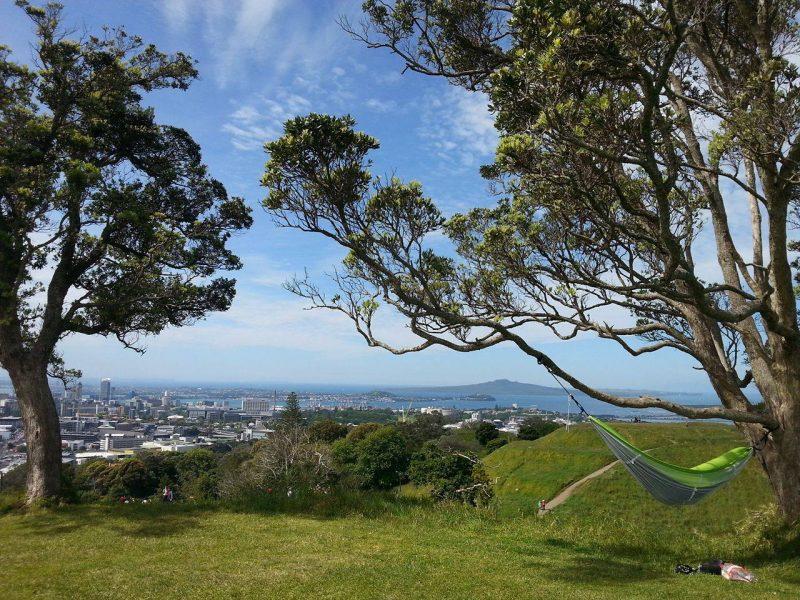 Marie-Lou Labonté profite de son voyage en Nouvelle-Zélande pour immortaliser certains paysages,