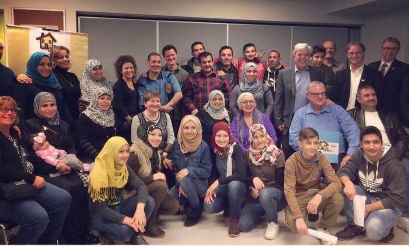 La région a déjà accueilli 10 familles de réfugiés, de 22 adultes et 44 enfants.