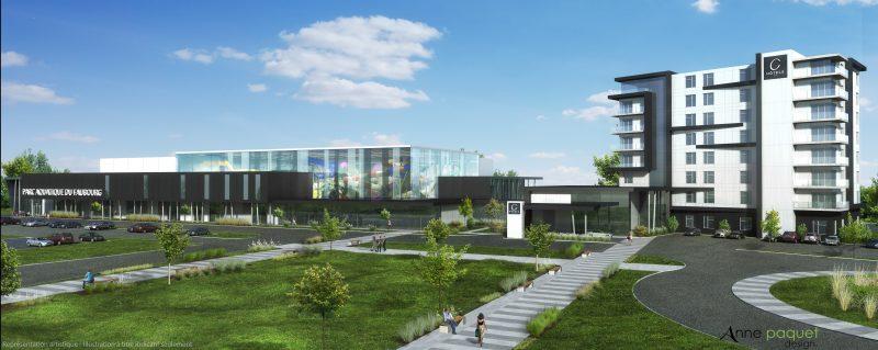 La construction de la première phase de l'hôtel et du centre d'amusement représente un investissement de 35 M$, selon le promoteur José Lobato.