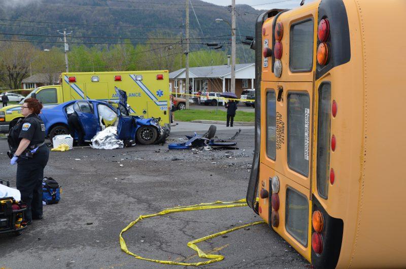 Un accident de la route à Mont-Saint-Hilaire avait coûté la vie à une jeune femme, l'an dernier.