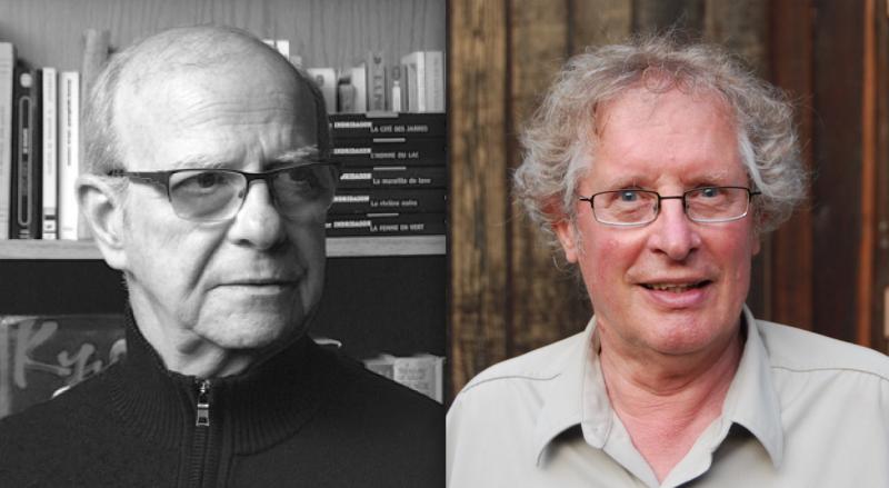 Albert Simon et Kees Vanderheyden