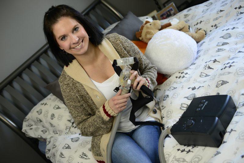 Marie-Eve Gaudreau a déposé une pétition au gouvernement du Québec pour un remboursement des équipements traitant l'apnée du sommeil.