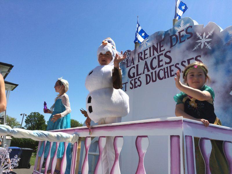 Les chars allégoriques de retour à Saint-Denis