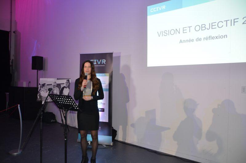 Mlanie Godin, présidente de la CCIVR.