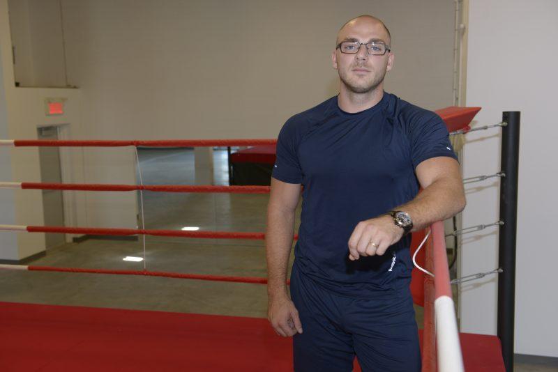 Michaël Dubois a l'intention d'organiser des galas de boxe amateur à son nouveau centre d'entrainement.