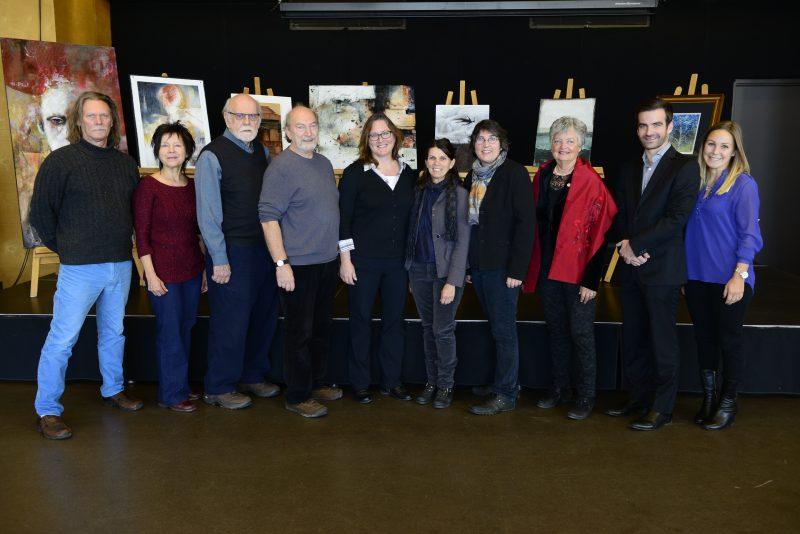 Le dévoilement de la programmation de la 8e édition du Collectif d'art de la Pointe-Valaine avait lieu le 10 novembre dernier.