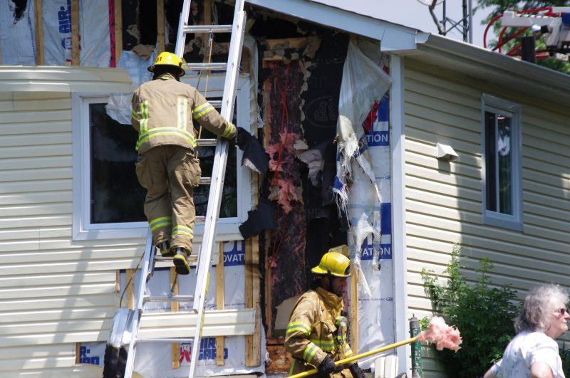 Les dommages sont évalués à 20 000$.