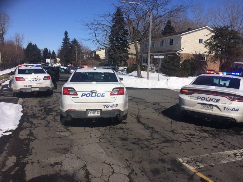 Opération policière à Mont-Saint-Hilaire