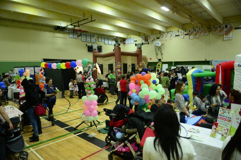 L'an dernier, le Salon des Familles avait attiré 2000 visiteurs et on espère en avoir autant cette année.