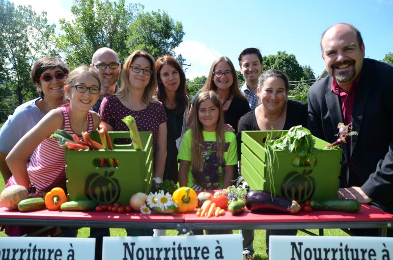 Légumes et fruits frais gratuits pour tous