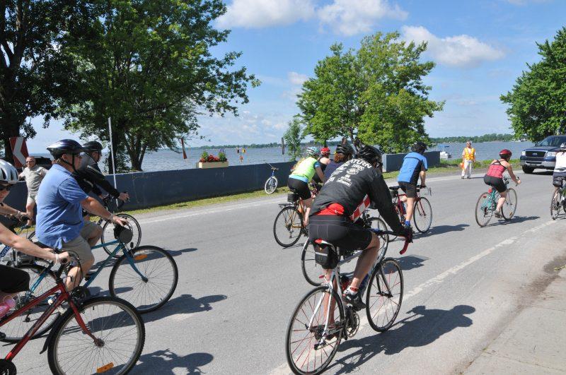 L'activité cycliste, qui aurait rassemblée les participants à Venise-en-Québec, n'aura pas lieu, faute de fonds.