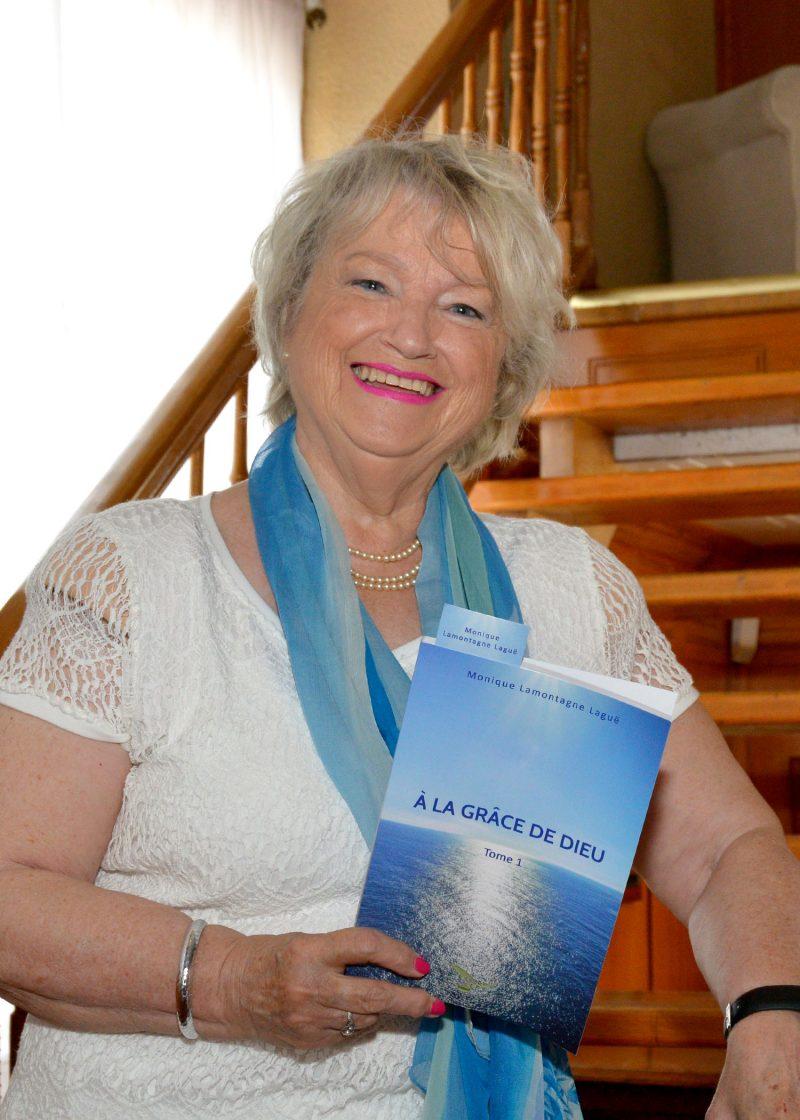 «Ce roman est dédié aux personnes qui ont eu à faire des choix difficiles dans leur vie», soutient Monique Laguë, qui souhaite toucher un large lectorat avec son histoire d'amour. Photo: François Larivière