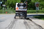 Les résidus du balai de rue risquaient de contaminer l'environnement
