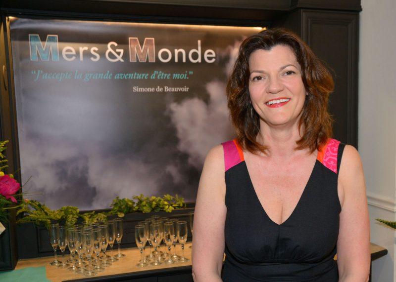 Diane Rousseau à l'inauguration officielle de son magasin. Diane Rousseau à l'inauguration officielle de son magasin. Photo: François Larivière