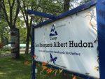 Des réfugiés aux Bosquets Albert-Hudon