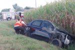 Violent accident sur le chemin Benoit, à Mont-Saint-Hilaire