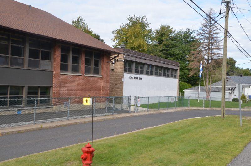 Pavillon 1 de l'école Notre-Dame.