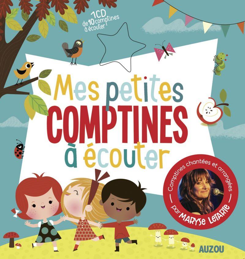 Mes petites comptines à écouter, à paraître le 12 octobre, fait appel à Nathalie Taylor aux illustrations.