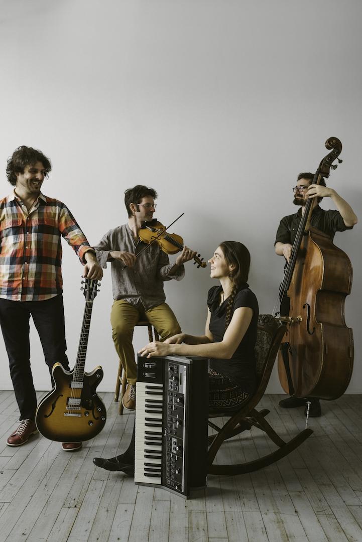 La musique traditionnelle est très vivante au Québec, et Maz représente à sa façon cette vitalité, estime le violoniste Pierre-Olivier Dufresne. Photo: Gracieuseté