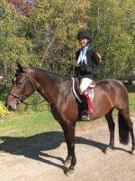 Alexia Poirier championne aux Jeux équestres du Québec